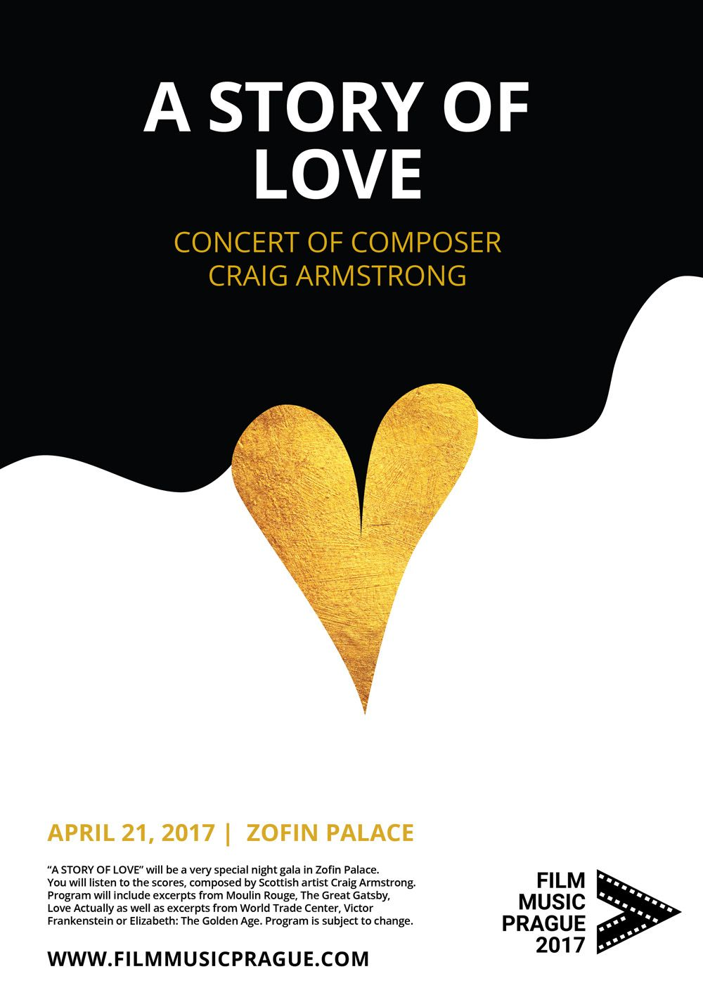 FSM Board: FILM MUSIC PRAGUE: Craig Armstrong - 21 April 2017