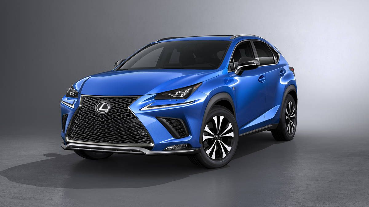 nice Lexus unveils refreshed 2018 NX300 and NX300h at the