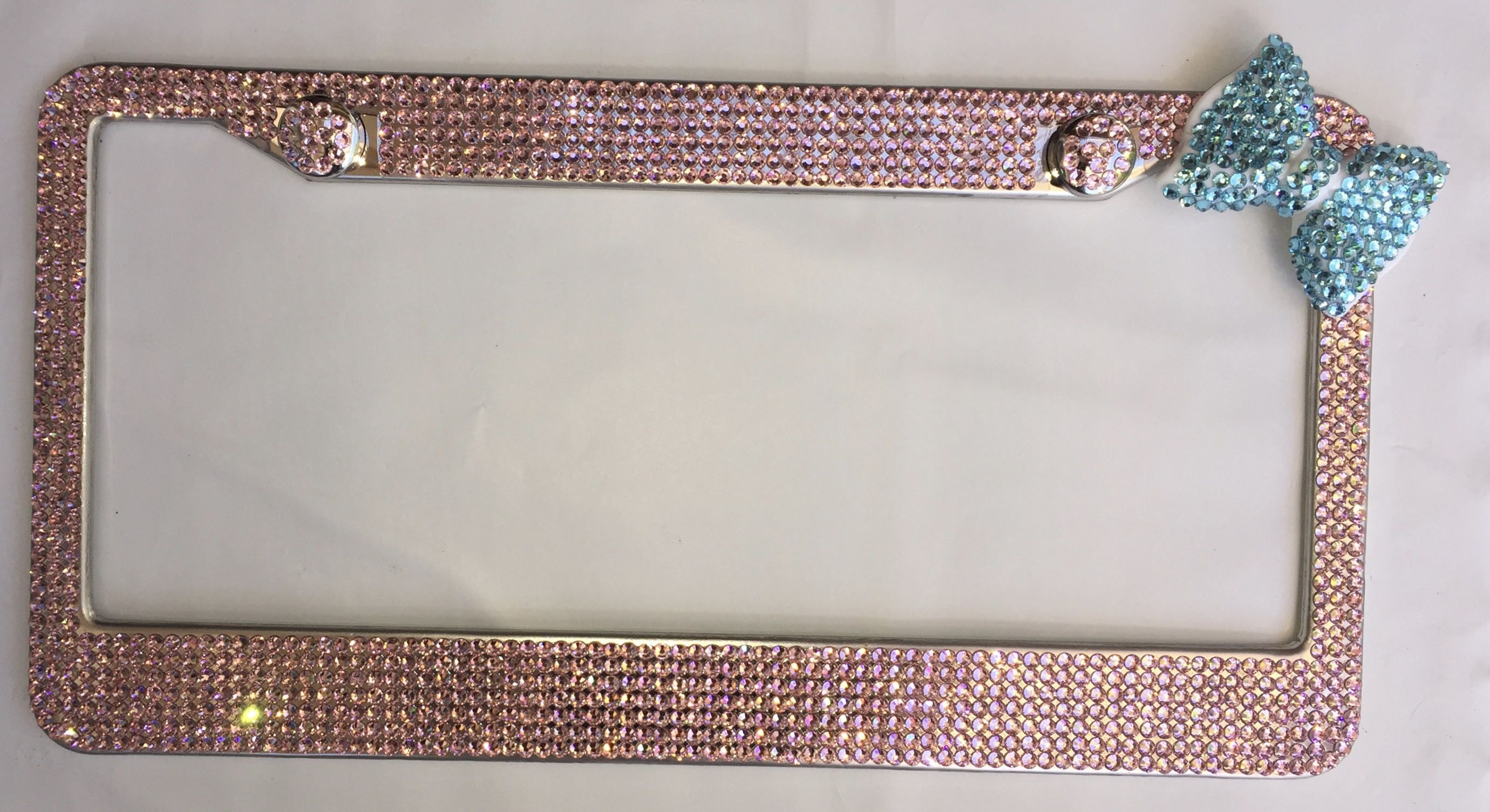 Colorful Bling Licence Plate Frames Ideas - Picture Frame Ideas ...