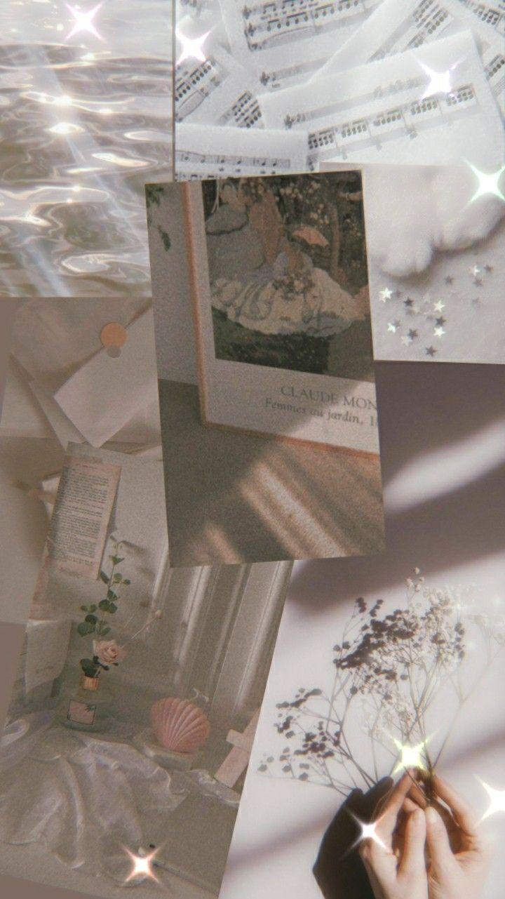 Soft White Aesthetic Wallpaper