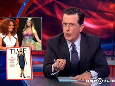The Colbert Report Takes on Trans Medicare Coverage