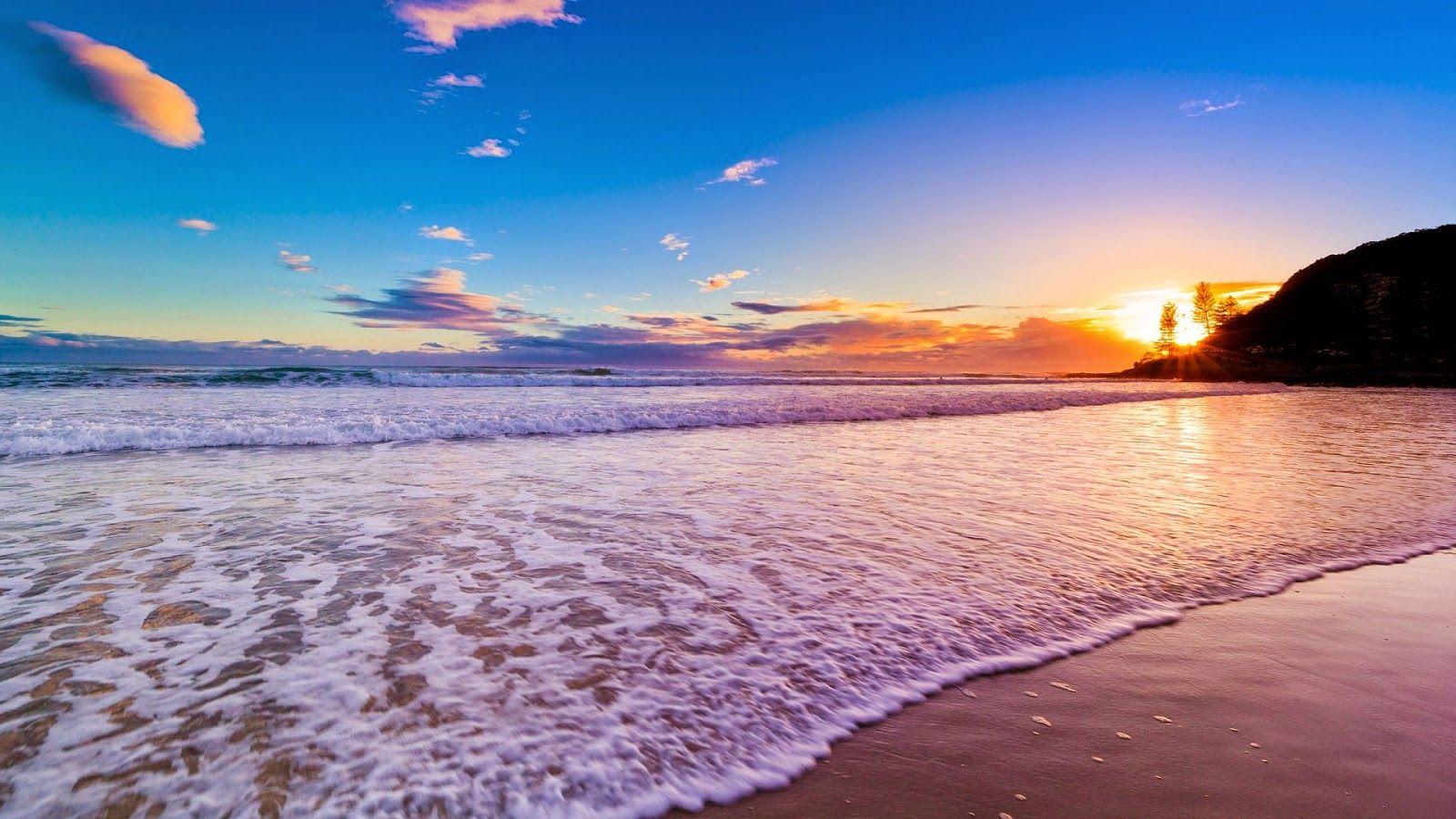 Beach Wallpaper Beach Sunset Wallpaper Sunrises Nature Beach