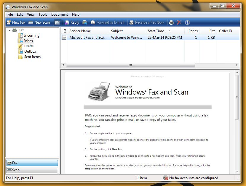 Microsoft Fax Software And 6 Sites To Send Receive Faxes