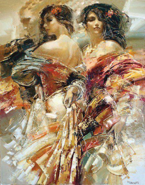 By Sergey Markov Art Art Painting Oil Female Art