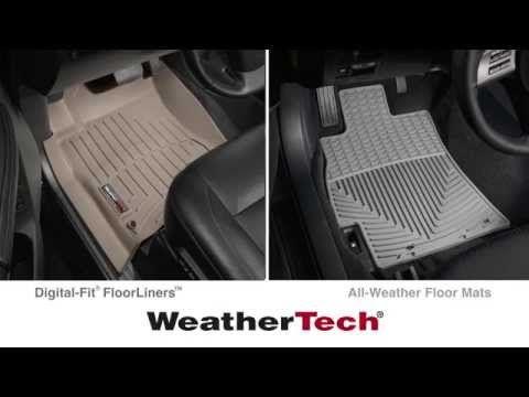 Floorliners Vs Floor Mats In Your Vehicle Weather Tech Floor Mats Weather Tech Floor Mats