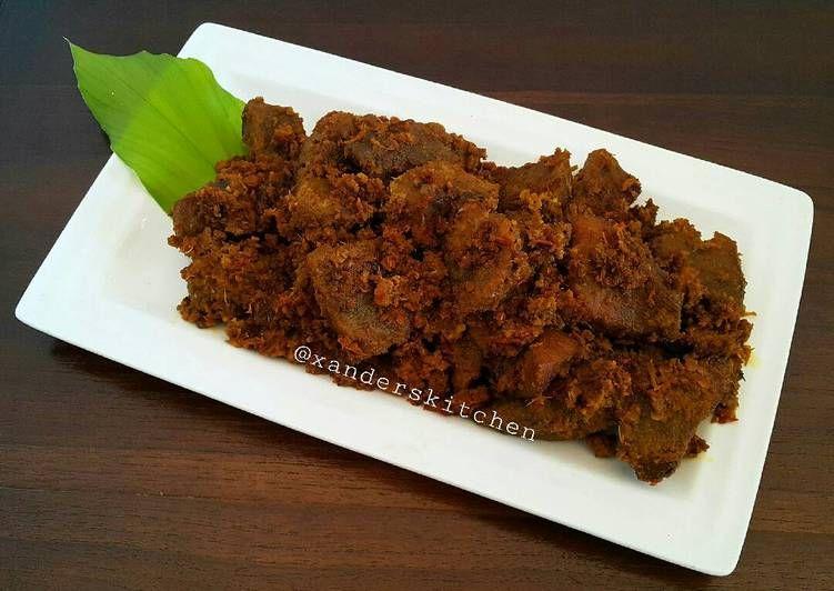 Resep Rendang Daging Oleh Xander S Kitchen Resep Resep Makanan Dan Minuman Daging