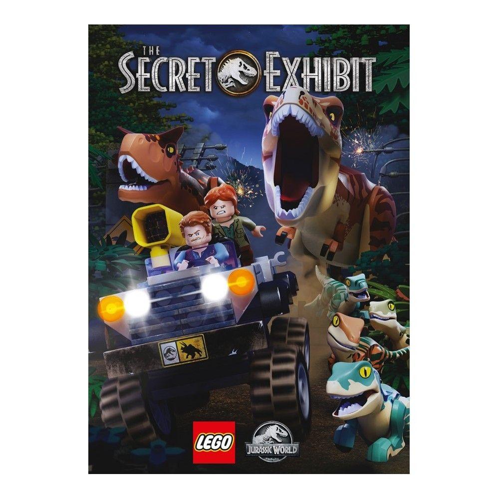 Lego Jurassic World The Secret Exhibit Dvd In 2021 Lego Jurassic World Lego Jurassic Lego Jurassic Park