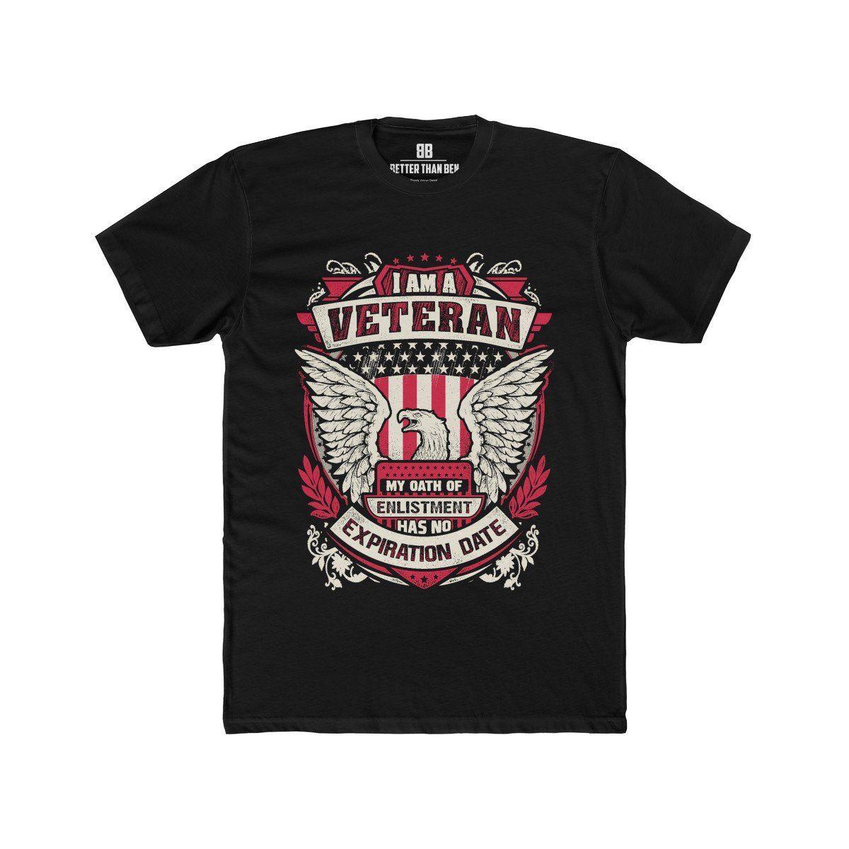 9f2bc1e99 Veteran - Oath Has No Expiration Premium Crew T-Shirt