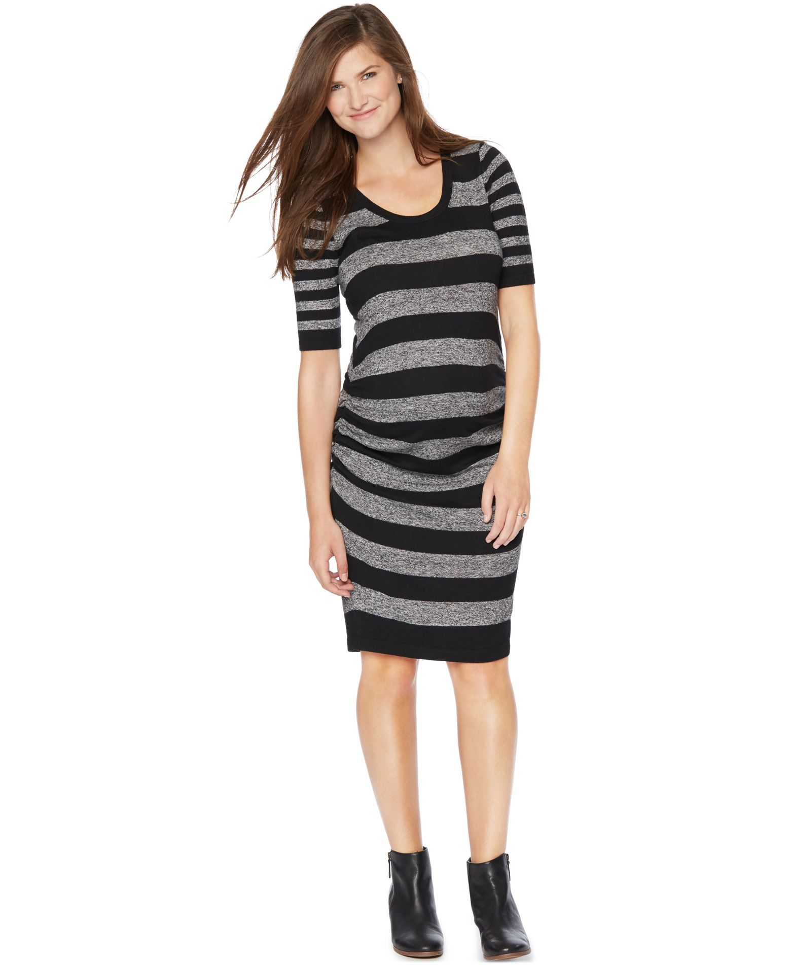 Motherhood maternity striped sweater dress maternity pinterest explore maternity sweater dress fall maternity and more ombrellifo Image collections
