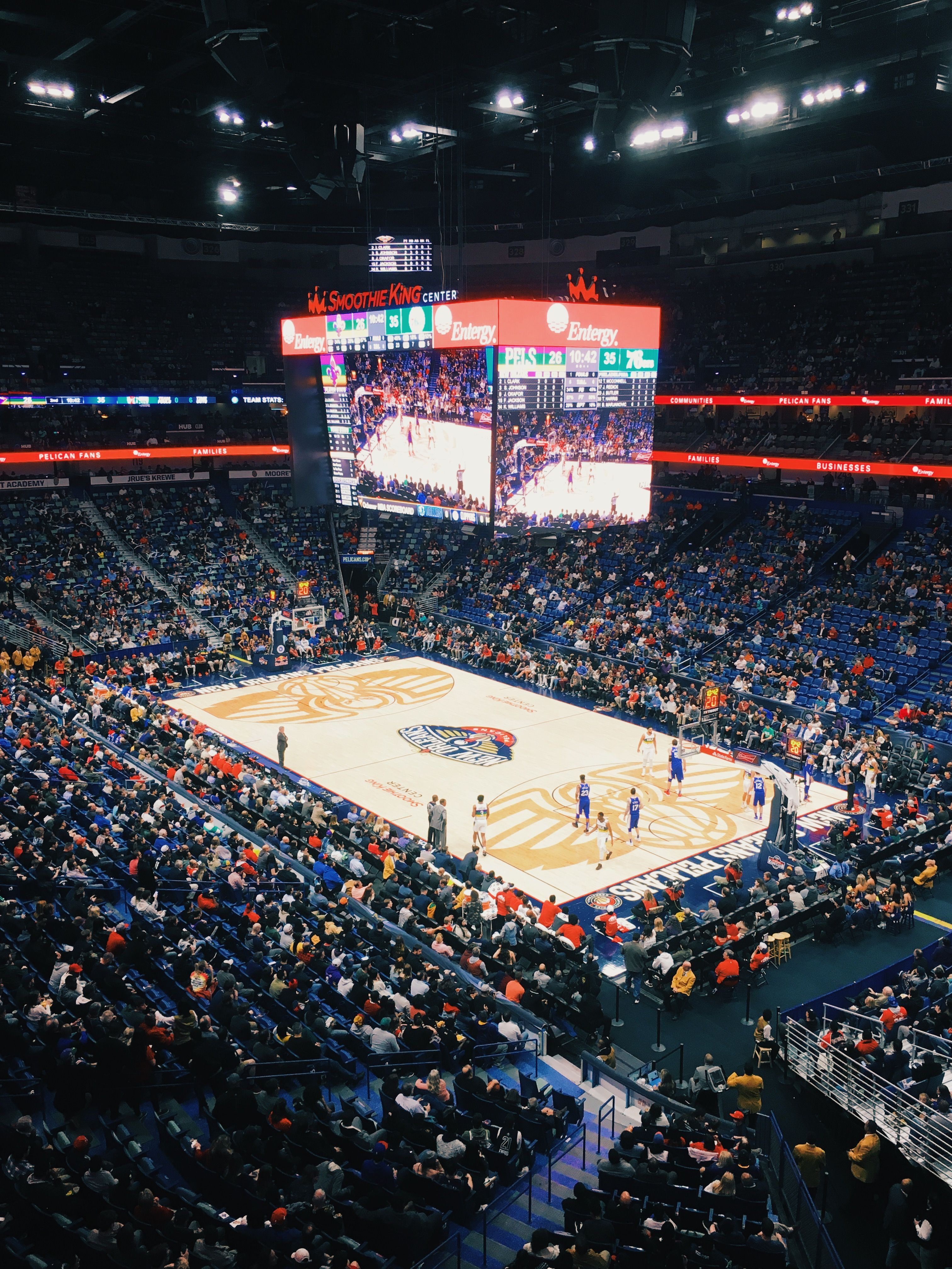 New Orleans Pelicans Arena Smoothie King Center Nba Arenas Smoothie King Center New Orleans Pelicans