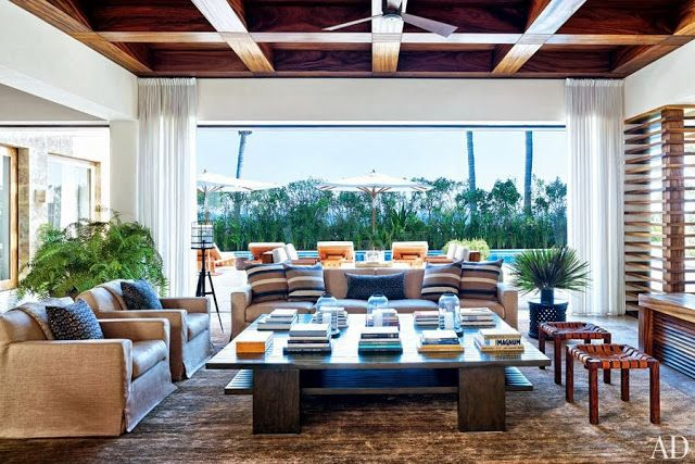 Chic Coastal Living Cindy Crawford George Clooney S Mexican Beach Houses