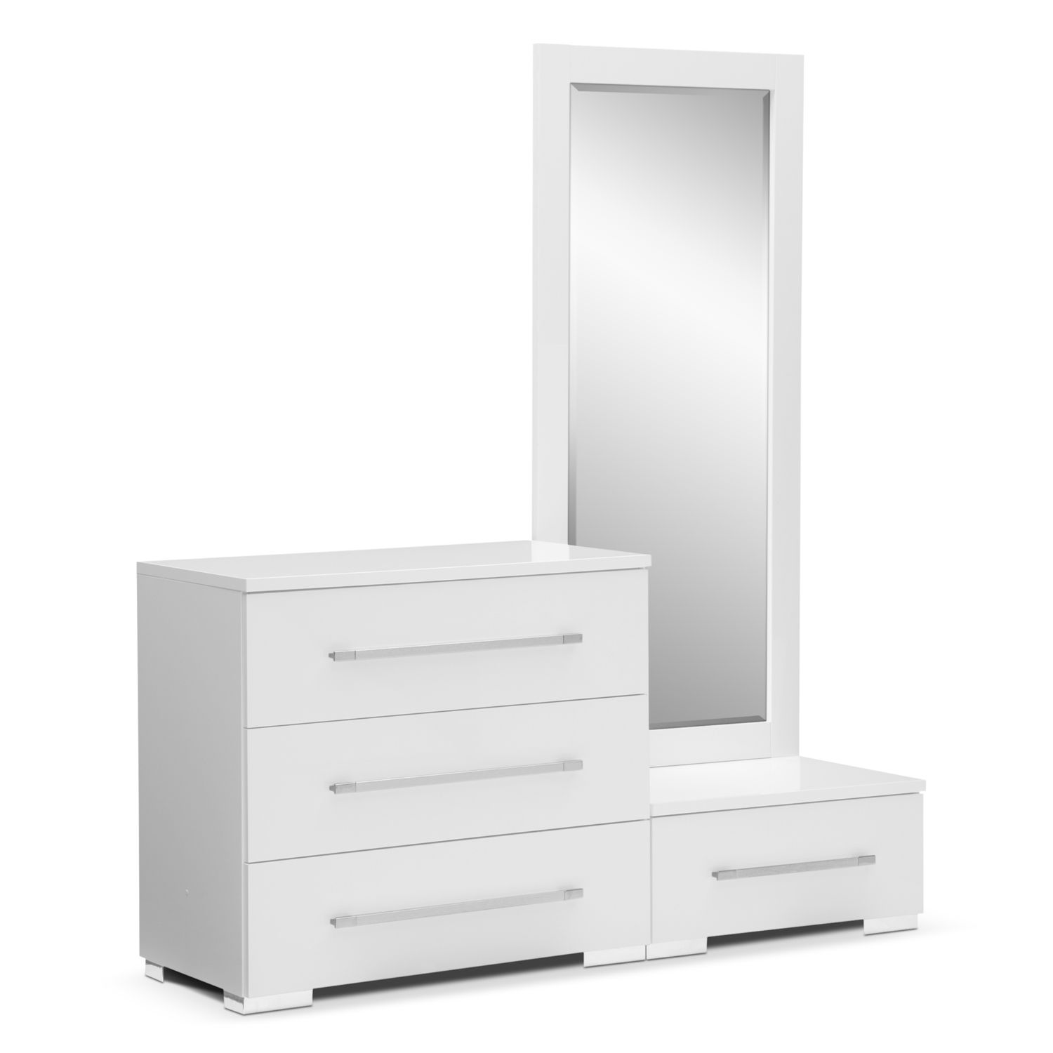 Mirrors For Bedroom Dressers Dimora White Bedroom Dressing Dresser Mirror With Step Value