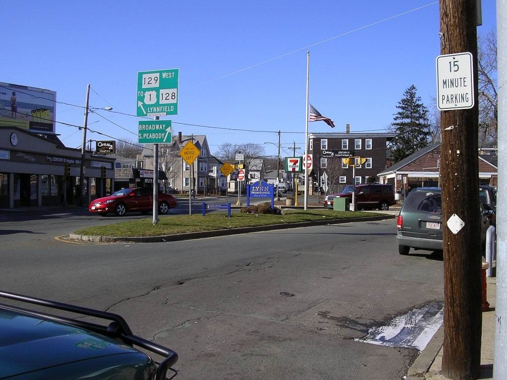 Wyoma Square Lynn Massachusetts I Walked This Way Every Day