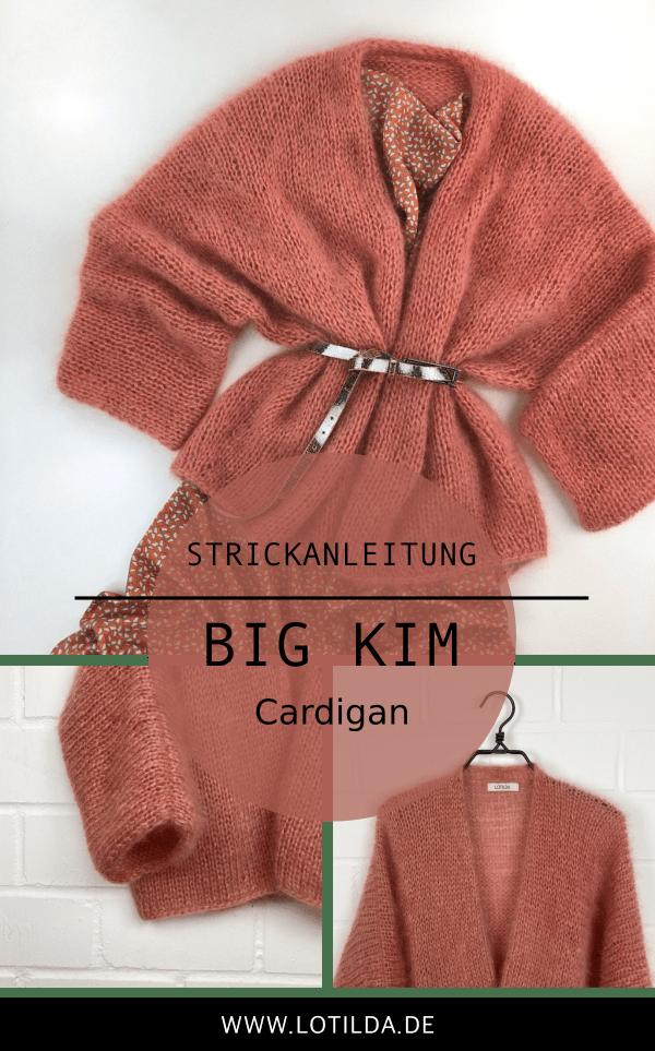 Photo of Knitting instructions BIG KIM cardigan