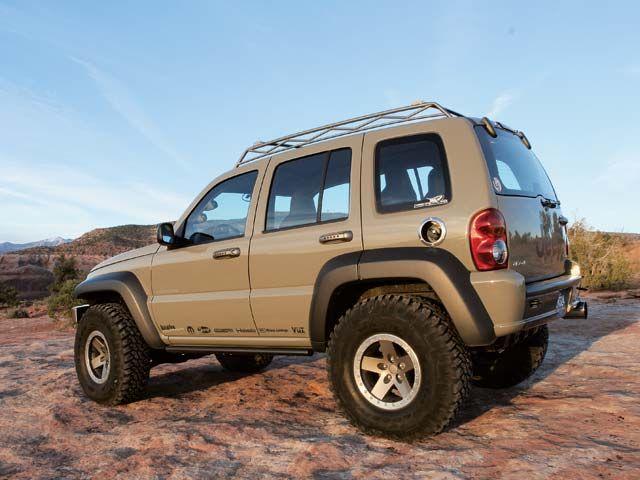 The Jeep Liberty Or Cherokee Kjkk Outside North America