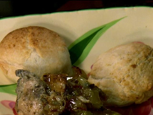 Smothered Chicken And Biscuits Recipe Chicken Recipes