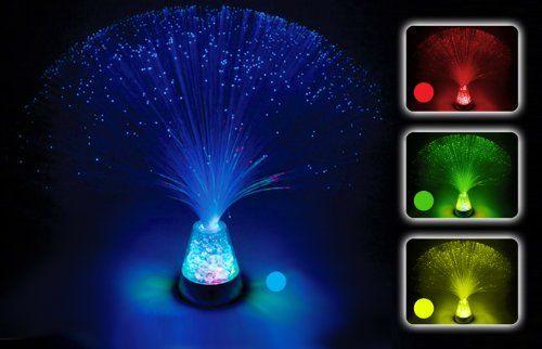 Fibre Optic Lamp Colour Changing Crystal Base 4 Colours Https