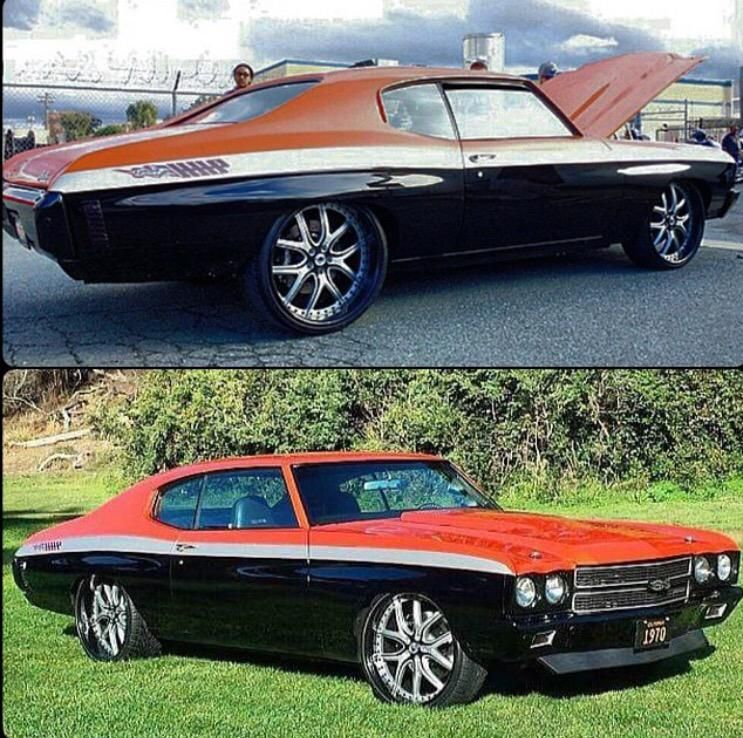 Three Tone 1970 Supercharged Chevelle