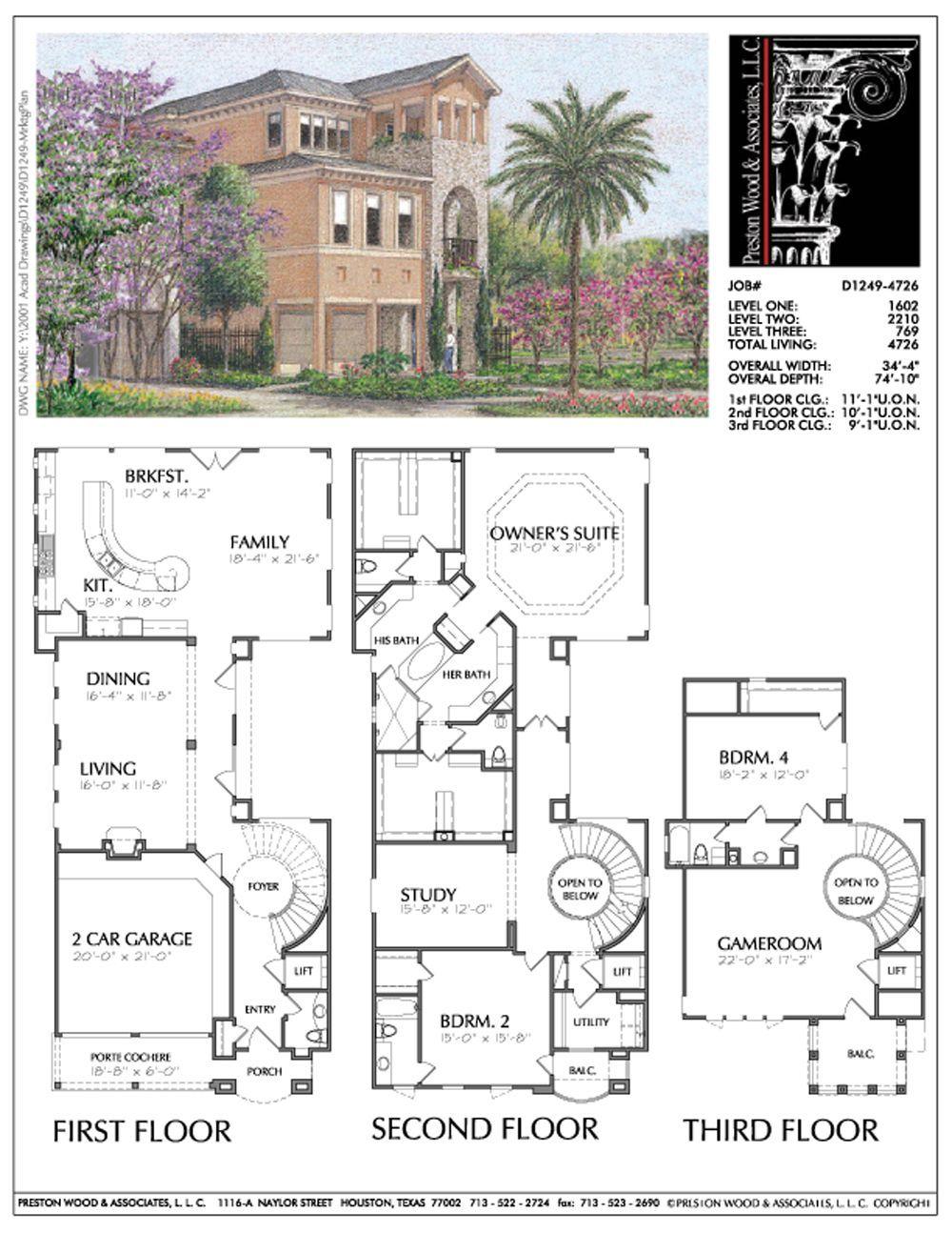 Urban Home Plan D1249 D3008 Organizedplan Family House Plans Floor Plan Design Home Design Plans
