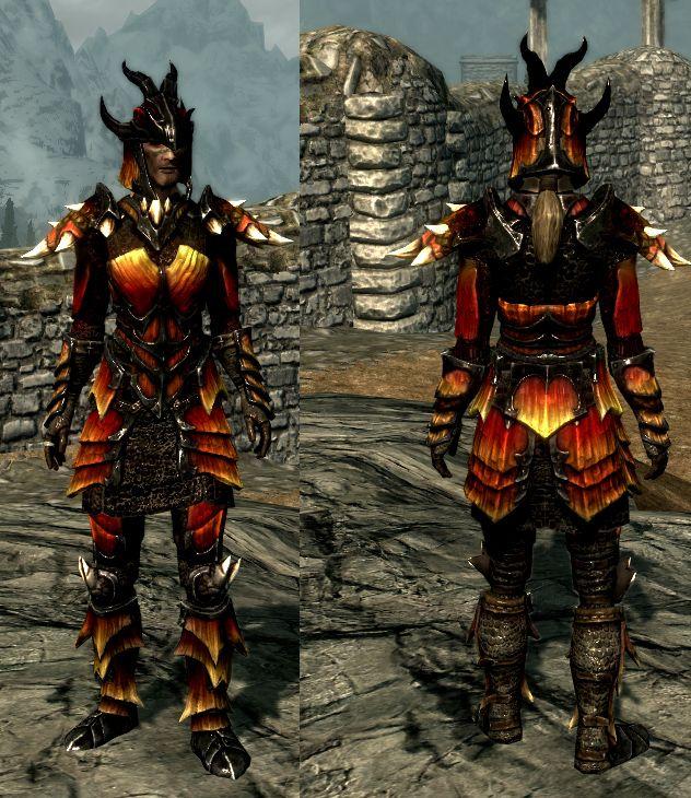 Skyrim Dragon scale color | Barbarian Costume Ideas | Dragon