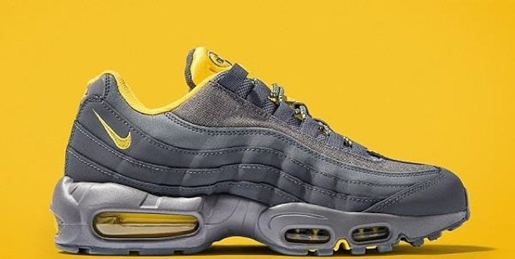 new styles 0dbf5 e46a6 Nike Air Max 95 Dark Grey/Tour Yellow JD Sports | Sole ...