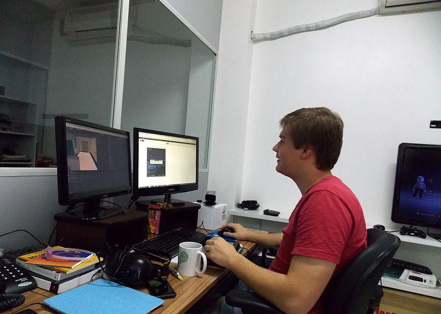 Dyego, desenvolvedor de Games e apps!