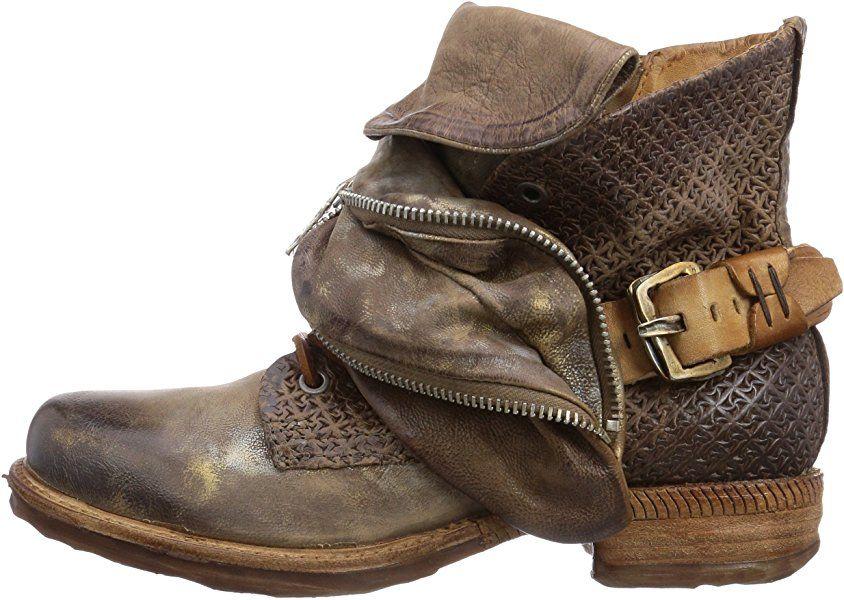 A.S.98 520206 1010 5628, Damen Biker Boots, Braun (rino+rino