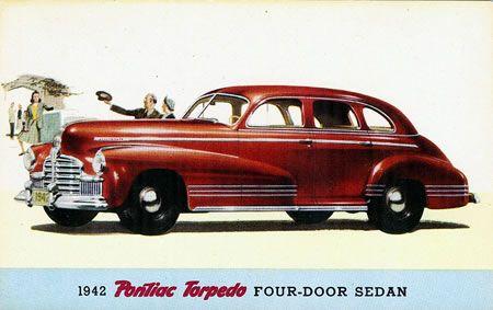 Pontiac Torpedo 1942.