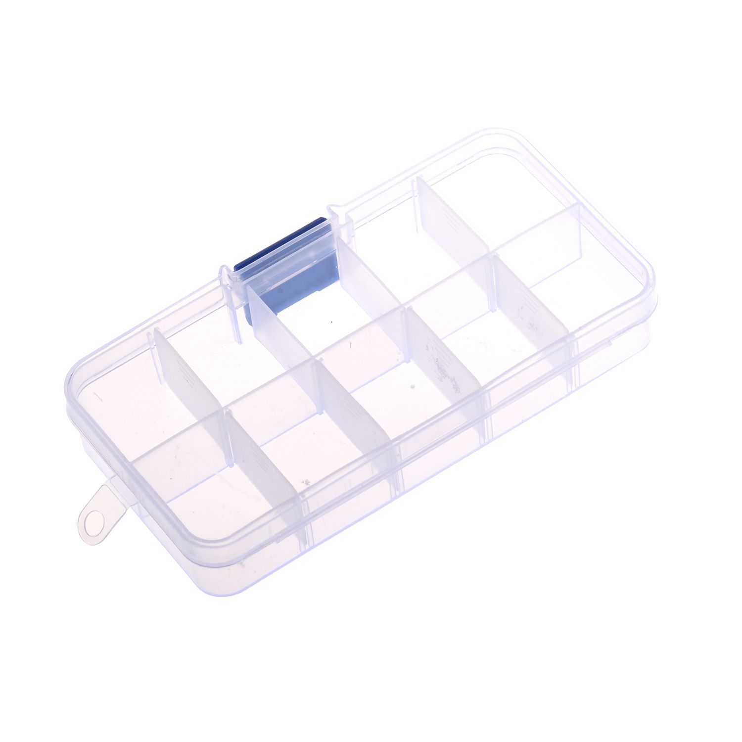 1 To 10 Compartment Plastic Storage Box Transparent For Pearl Pin Jewelry Tools Small Accessories Plastic Box Storage Small Accessories Pearl Pin