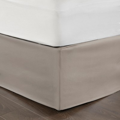 Khaki Simple Fit Wrap Around Adjustable Bed Skirt In 2020