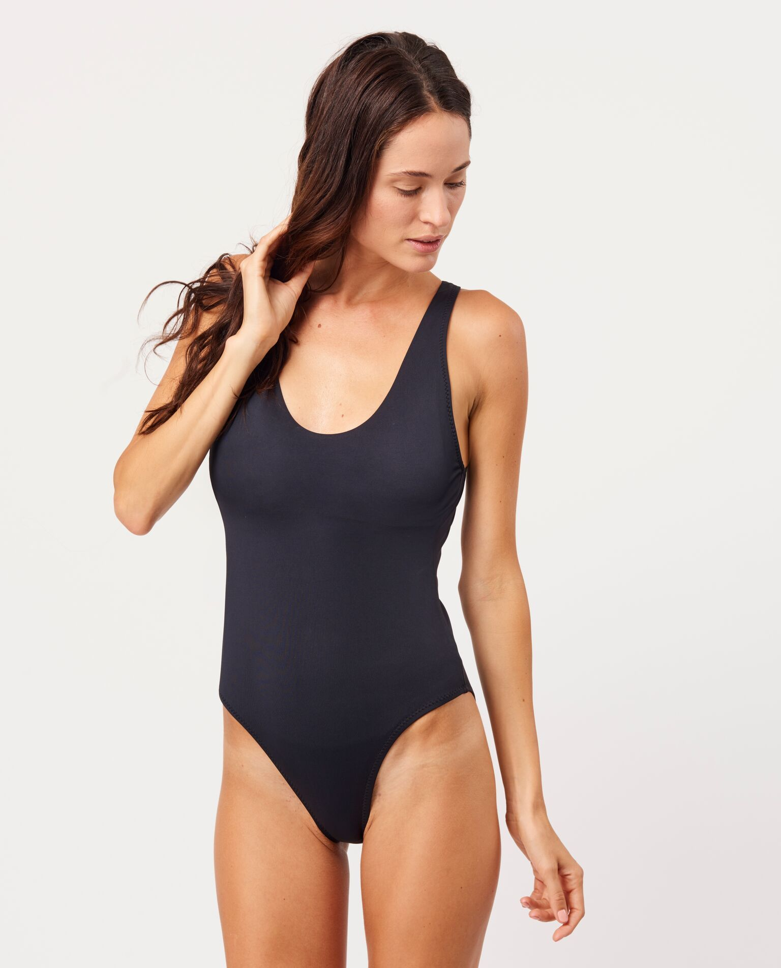 077ca768c05 Sleek flattering one piece swimsuit from Andie swim.