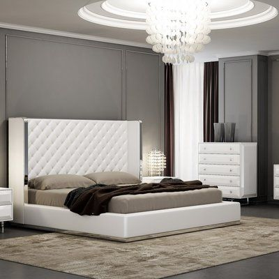 Orren Ellis Aesara Customizable Bedroom Set Bed sizes and Products