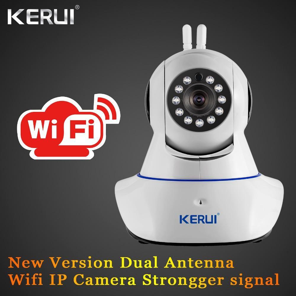 KERUI IWifi ISO Android APP Remote Control Burglar HD IP