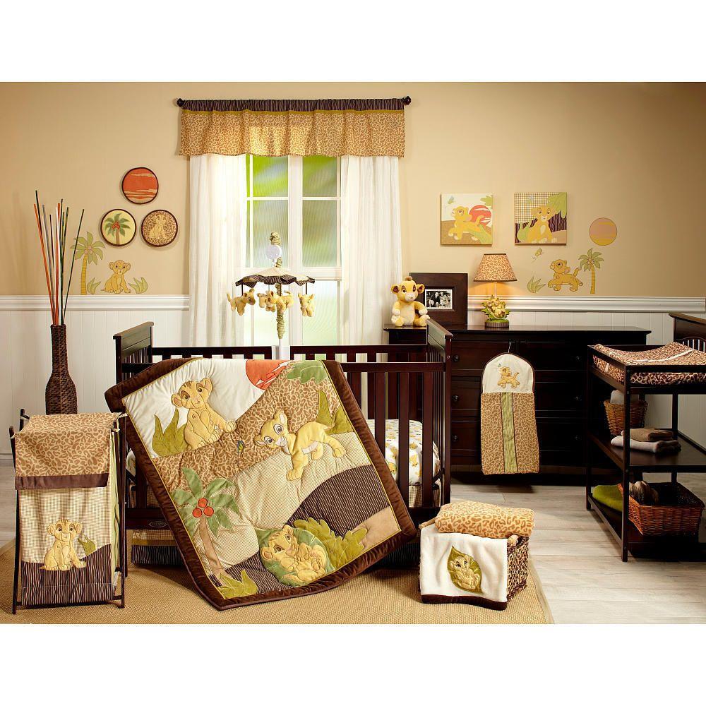 Bedding Sets  Chambre bébé roi lion, Déco chambre bébé, Crèche