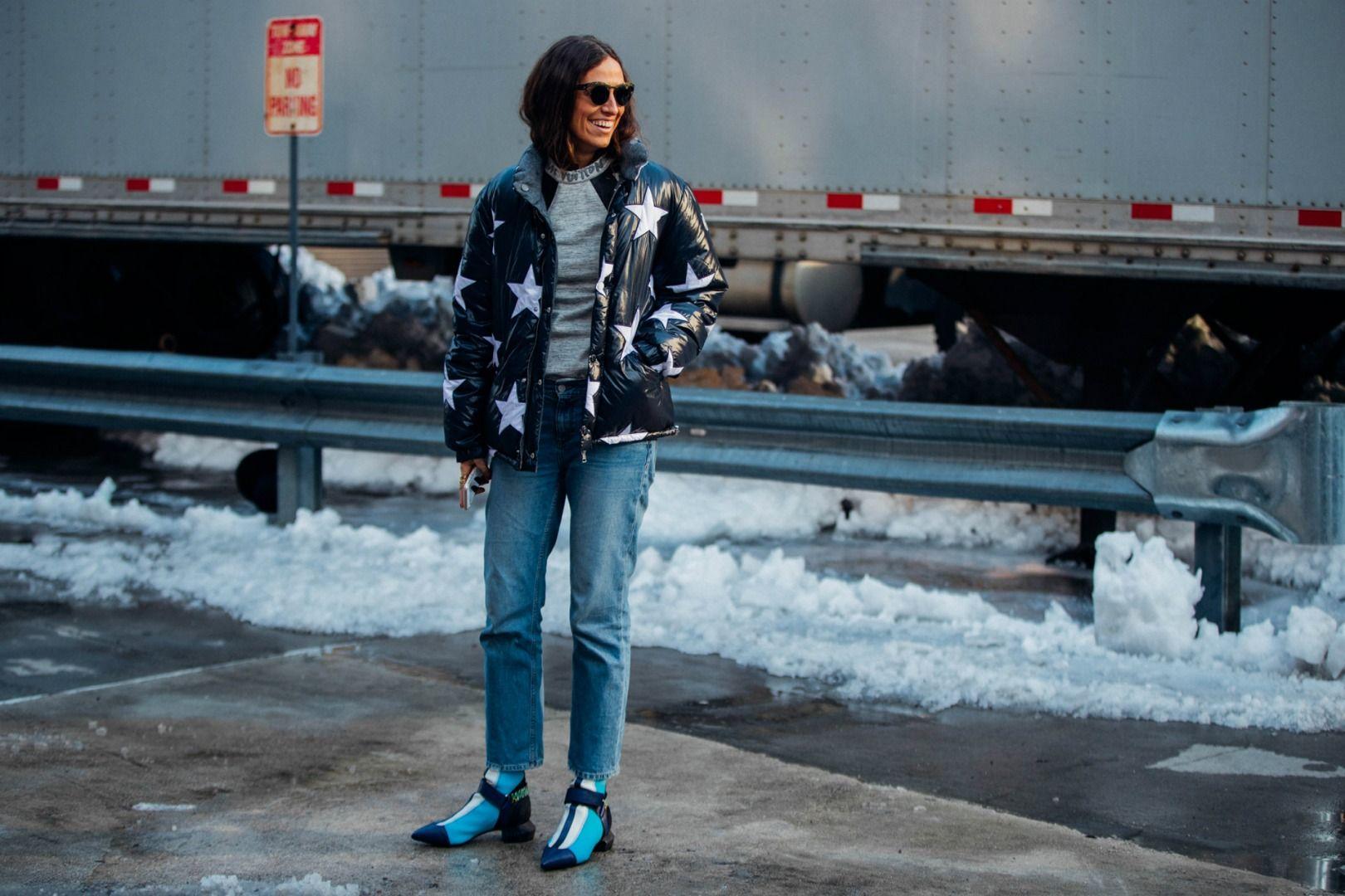 Sokak Stili: 2017 Sonbahar/Kış New York Moda Haftası 1. ve 2. Gün