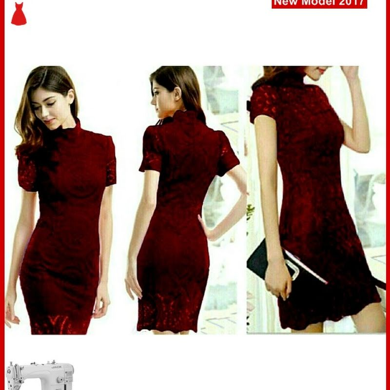 Msf0074 Model Dress Lace Murah Shanghai Salsa Bmg Model Dress