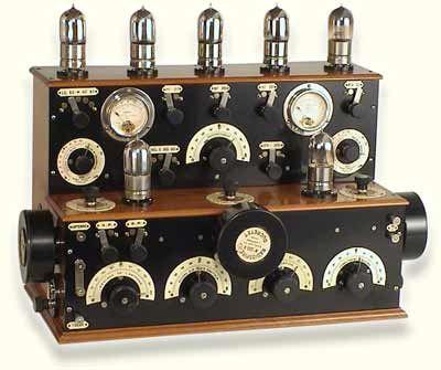 History Of Tuning Indicators Meters Graphs Magic Eye Led Vintage Electronics Antique Radio Valve Amplifier