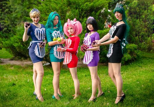 maid, sailor neptune, and maid cafe image