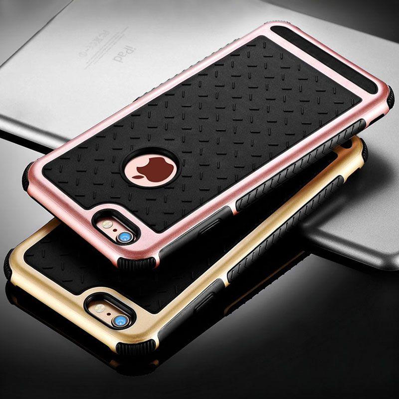 Schokbestendig Siliconen Case Voor iPhone 6 6 S/6 6 S Plus/5 5 S SE Achterkant TPU Coque Capinha Voor Apple iPhone 6 S 6 S Case Silicon