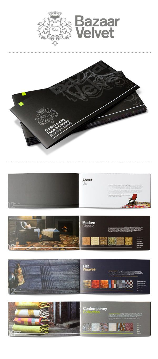 Awesome Mini Brochure Designs Annual Reports Brochures And - Mini brochure template