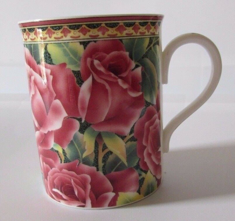 Royal Grafton Pink Tropicana Rose Coffee Tea Mug Cup Fine Bone China  England  RoyalGrafton  tropicanarose  roses  rose  pink  coffeemugs   coffeecups   ... 6fea191dad4