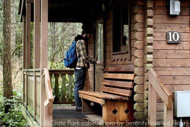 Silver Falls Rustic Cabin 10 Or State Park Cabin In