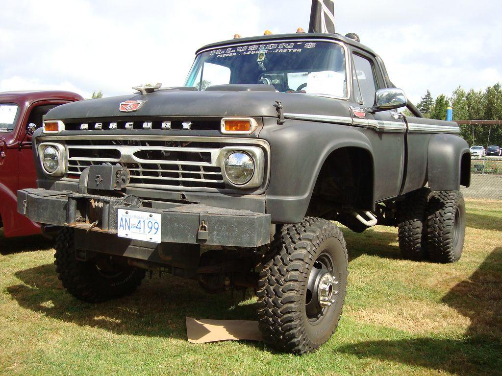 1965 Mercury 4X4 Custom Pickup Truck  cars and trucks  Pinterest