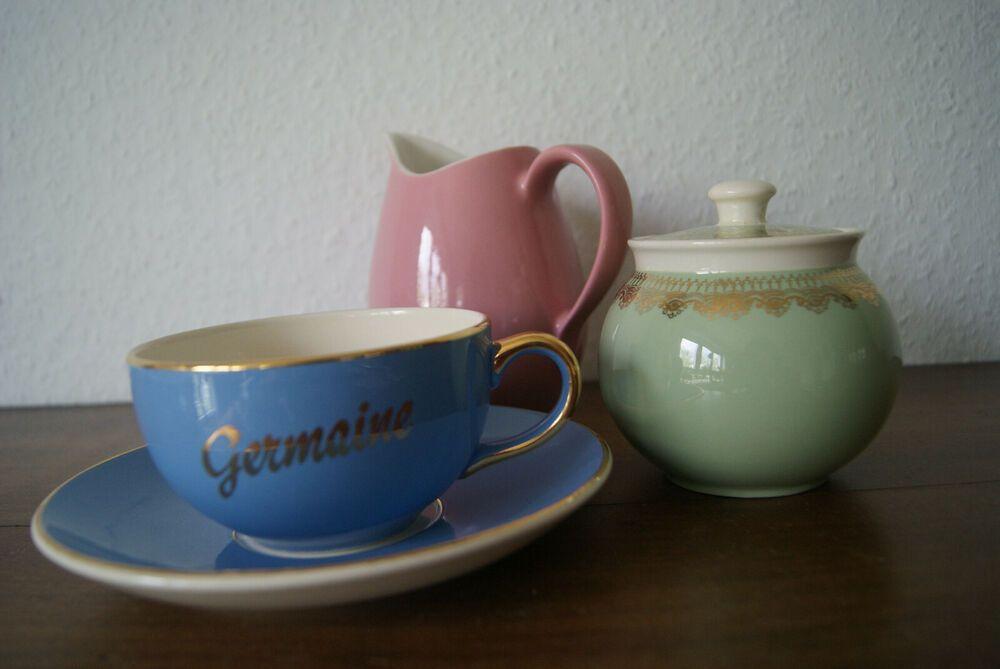 Jumbotasse.Kaffeetasse.Villeroy & Boch um ca .1947-1956J.Vintage