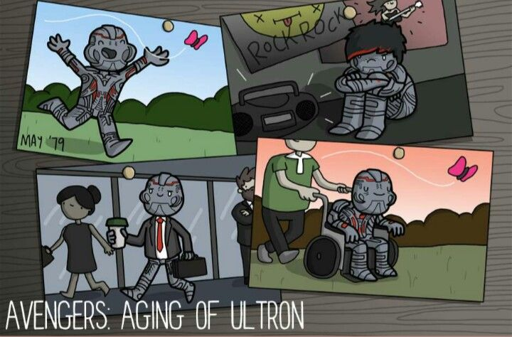 Avengers : aging of ultron by james chapman