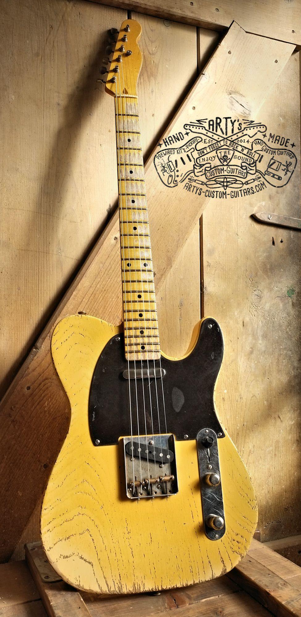 1952 butterscotch blonde blackguard telecaster