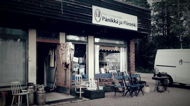 Osto ja myyntiliike Pänikkä ja Piironki
