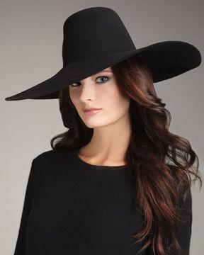 ccb9d4950 ShopStyle.com  Lanvin Wide-Brim Felt Hat  776.00