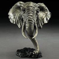 African Elephant Sculpture | Bronze | Mark Hopkins