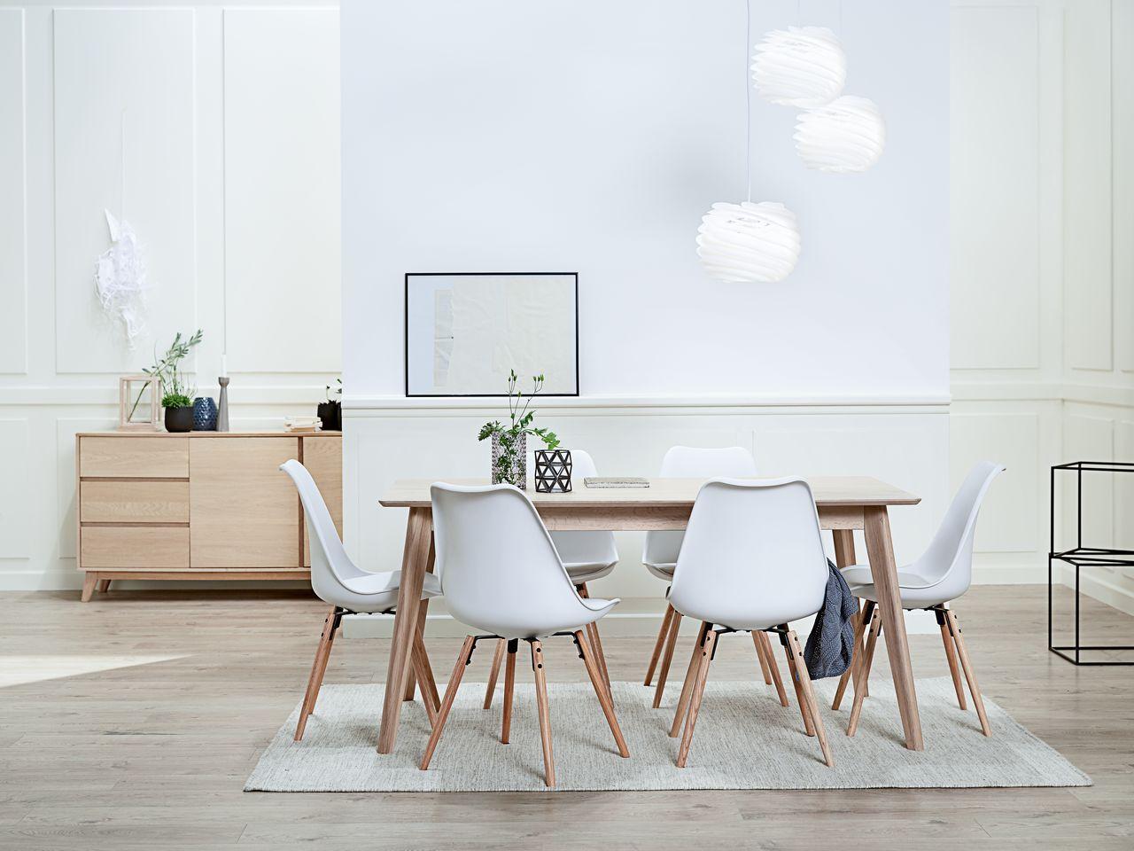 CLASSIC LIVING - KALBY eetkamer tafel en stoelen | JYSK | Mini ...